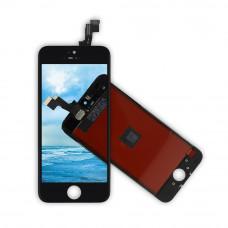 Дисплей (экран) iPhone 5s + тачскрин, цвет черный 2CAN