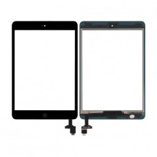 Сенсор Apple iPad Mini Full (шлейф+button+IC)/(A1453/A1454/A1455) black Original Quality