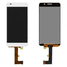 Дисплей (экран) HUAWEI Honor 6 (H60-L02) + тачскрин, цвет белый