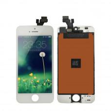 Дисплей (экран) iPhone 5 + тачскрин, цвет белый 2CAN