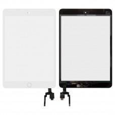 Сенсор Apple iPad Mini 3 (со шлейфом)/(A1599/A1600/A1601) white Original Quality