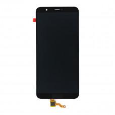 Дисплей (экран) HUAWEI P Smart (2017) + тачскрин, цвет черный