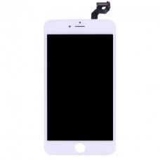 Дисплей (LCD) iPhone 6S Plus + сенсор white Original (переклеено стекло)