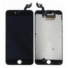 Дисплей (LCD) iPhone 6S Plus + сенсор black Original (переклеено стекло)